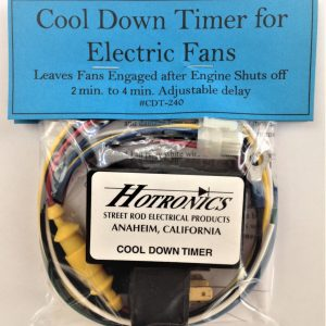CDT-240 Cool Down Delay, Removes Heat from Engine and Radiator, Made in USA